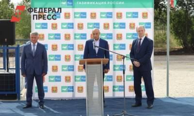 Догазификация в Липецкой области коснется более 21 000 домовладений