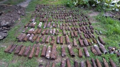 В Краснодарском крае обезвредили более 300 боеприпасов времён Великой Отечественной войны