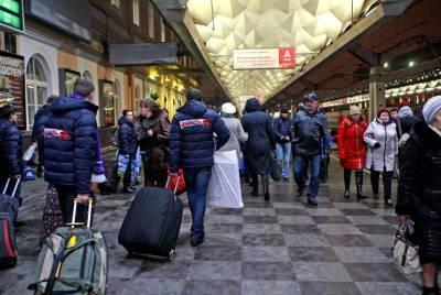 Работники вокзалов Петербурга рассказали, что забывают пассажиры