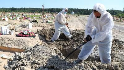 Смертность от COVID в Петербурге резко выросла на фоне антирекорда в России