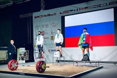 Кубанские юниоры завоевали пять золотых медалей на первенстве Европы по тяжёлой атлетике