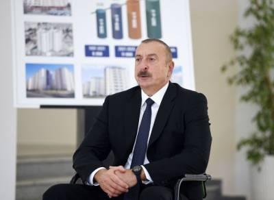 Президент Ильхам Алиев: Светлая память наших шехидов священна для каждого из нас