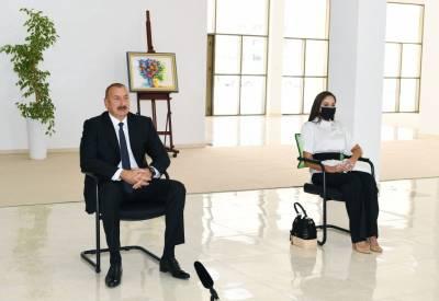 Президент Ильхам Алиев: Мы вовремя освободили наши земли, вовремя остановили войну и одержали историческую Победу