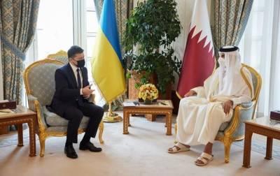 Зеленский обсудил с эмиром Катара эвакуацию из Афганистана