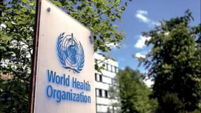 В ВОЗ сообщили о высоком уровне заболеваемости COVID-19