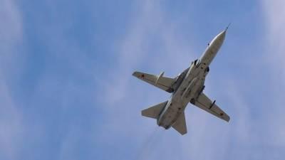 Бомбардировщик Су-24 упал в Пермском крае