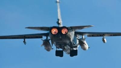 Бомбардировщик Су-24 разбился в Пермском крае