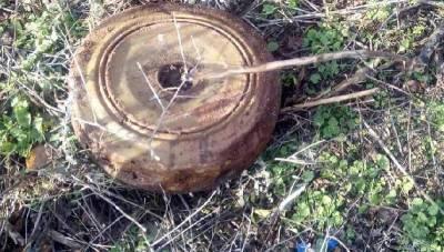 В Смоленской области нашли противотанковую мину