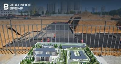 Минниханов опубликовал видео со строительной площадки военного госпиталя в Казани