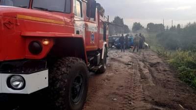 Ребенок пострадал в результате аварии под Смоленском