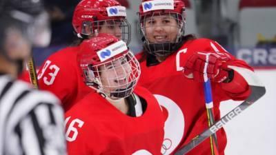 Женская сборная Россия сыграет с Германией в турнире за 5-8-е места ЧМ по хоккею