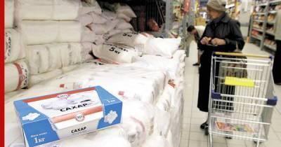 Правительство России включило сахар в перечень сельхозпродукции для госинтервенций