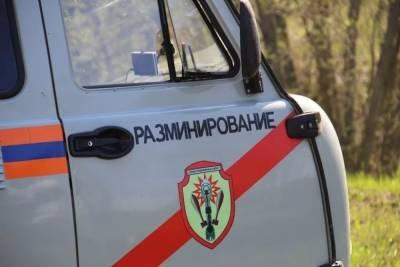 Три боеприпаса времен войны обезвредили саперы в Смоленской области