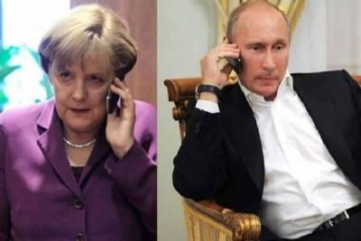 Из-за чего поругались Ангела Меркель и Владимир Путин в 2014 году?