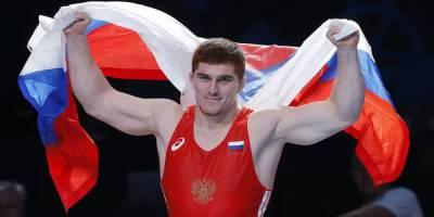 Российский борец греко-римского стиля Евлоев завоевал золотую медаль ОИ-2020