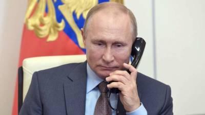 Путин и президент Боливии обсудили борьбу с коронавирусом