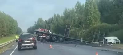 Молодая пара из Смоленской области погибла в ДТП под Брянском