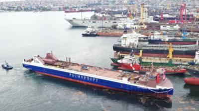 Кабмин выделил 2,55 млрд рублей на достройку парома «Генерал Черняховский»