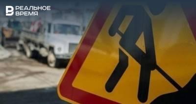 В Казани ограничено движение транспорта на участке по проспекту Альберта Камалеева