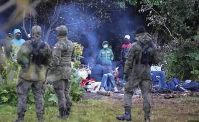 Junge Welt (Германия): гибридная война на польско-белорусской границе