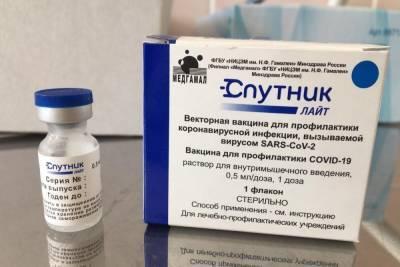 Порядка 26 тысяч доз однокомпонентной вакцины «Спутник Лайт» поступило в медучреждения Тульской области