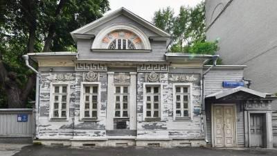 Деревянный особняк Палибина в Хамовниках отреставрируют