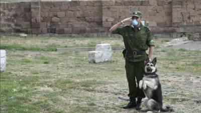 Российские пограничники размещены на границе Армении и Азербайджана