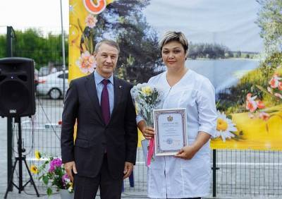 Аркадий Фомин принял участие в Дне малого села в Путятинском районе