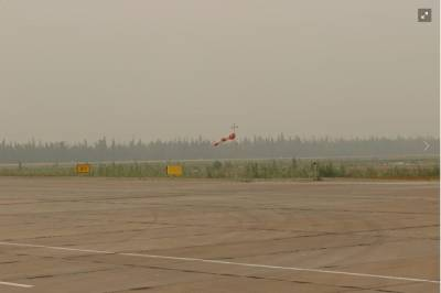 Из-за смога от лесных пожаров в Якутии на Ямале задержали вылеты самолетов