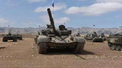 Начались военные учения на границе Афганистана