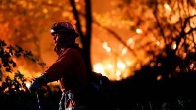 Несколько населенных пунктов в Калифорнии уничтожены огнем от лесных пожаров