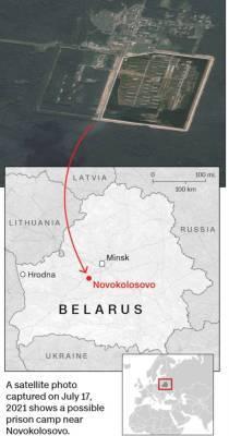 Под Минском строят большой концлагерь для политических заключенных