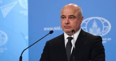 В МИД РФ сказали, что мешает разместить пограничников на границе Армении и Азербайджана