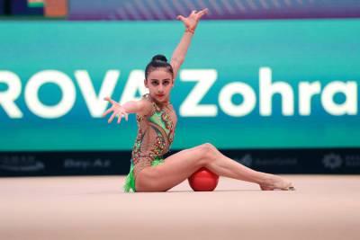 Азербайджанская гимнастка Зохра Агамирова вступает в борьбу на Летних Олимпийских играх-2020 в Токио