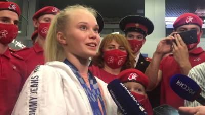 Воронежская гимнастка Мельникова получит почти 9 млн рублей за три олимпийские медали