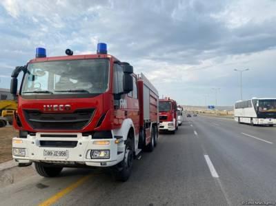 Четвертая группа пожарно-спасательных подразделений МЧС Азербайджана отправится в Турцию