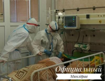 В Беларуси официально зарегистрировали 1295 случаев COVID-19