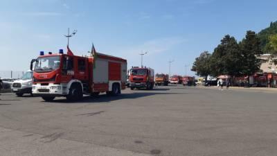 Третья группа пожарно-спасательных сил МЧС Азербайджана прибыла в Турцию (ФОТО/ВИДЕО)