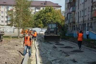 Нацпроекты реализуют в Курске за 1 млрд 119,5 млн рублей