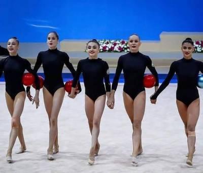 Команда Азербайджана по художественной гимнастике вступает в борьбу на летних Олимпийских играх-2020 в Токио