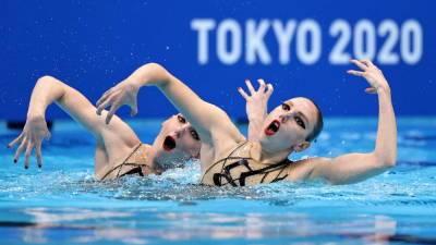 Россия взяла золото в синхронном плавании на Олимпийских играх в Токио