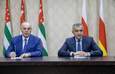 Абхазия и Южная Осетия договорились проводить совместные военные учения