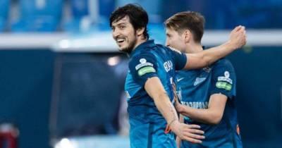 Два гола Азмуна принесли «Зениту» домашнюю побкду над «Краснодаром»