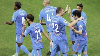 «Зенит» обыграл «Краснодар» в третьем туре чемпионата России по футболу