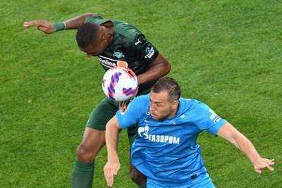 В сети появились лучшие моменты матча «Зенита» и «Краснодара»