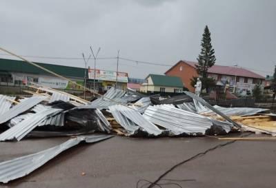 В Башкирии скончалась девочка, на которую упала крыша торгового здания