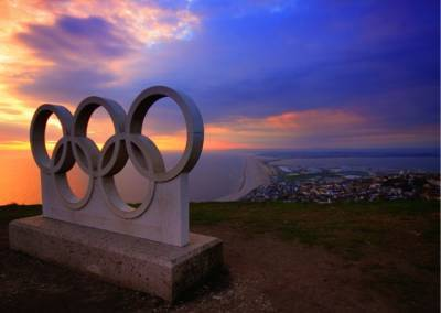 В Токио стартовала церемония закрытия Олимпийских игр и мира