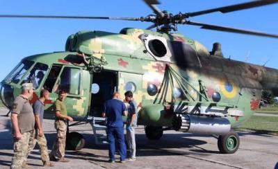 В Одессу на вертолете доставили травмированного в Херсонской области военнослужащего
