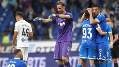 «Динамо» обыграло ЦСКА в матче чемпионата России по футболу