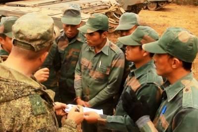 В Россию прибыли военнослужащие из Лаоса для участия в совместных учениях